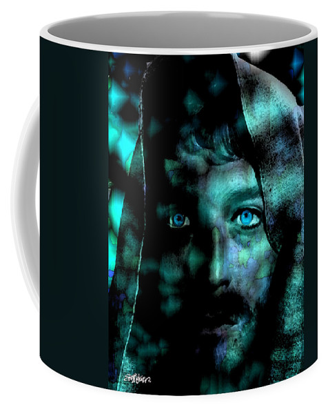 In The Garden Coffee Mug featuring the digital art In The Garden by Seth Weaver