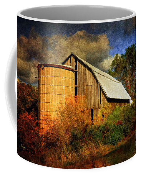 Barn Coffee Mug featuring the photograph In The Gloaming by Lois Bryan