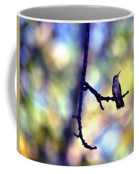 Bird Coffee Mug featuring the photograph In The Last Of The Light by Deena Stoddard