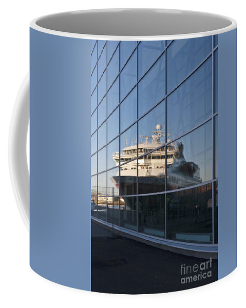 Heiko Coffee Mug featuring the photograph In The Mirror by Heiko Koehrer-Wagner