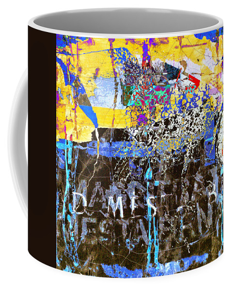 Underworld Coffee Mug featuring the mixed media In The Underworld by Dominic Piperata