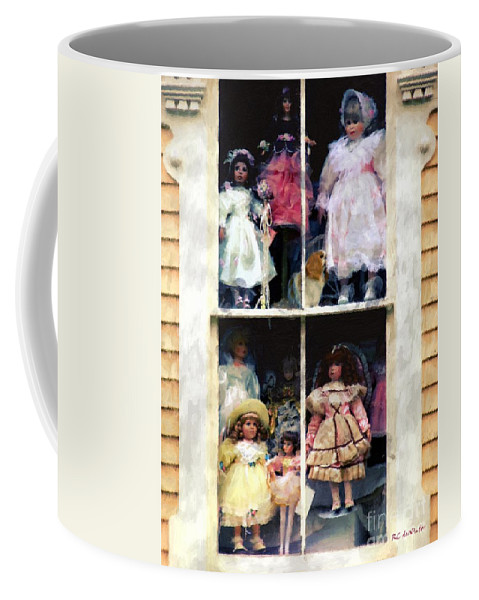 Dolls Coffee Mug featuring the painting In Vitro by RC DeWinter
