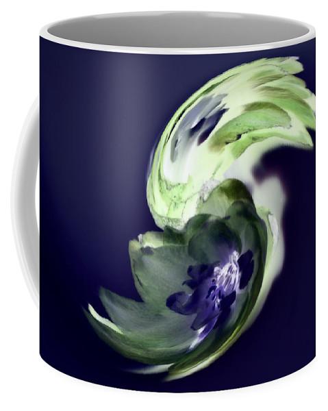 Abstract Phototgraphy Coffee Mug featuring the photograph Incana abstract 1 by Paulina Roybal