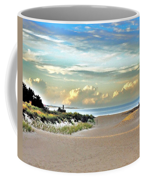 Indian River Inlet Coffee Mug featuring the photograph Indian River Inlet - Delaware State Parks by Kim Bemis