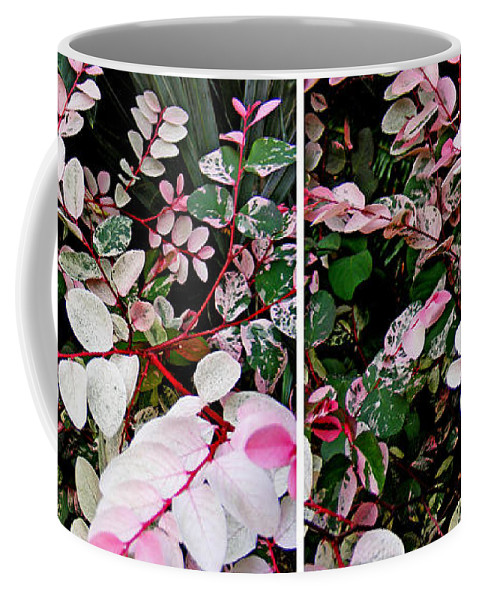 Stereo Coffee Mug featuring the photograph Indigo Plant In Stereo by Duane McCullough