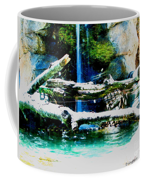 Patzer Coffee Mug featuring the photograph Indoor Nature by Greg Patzer