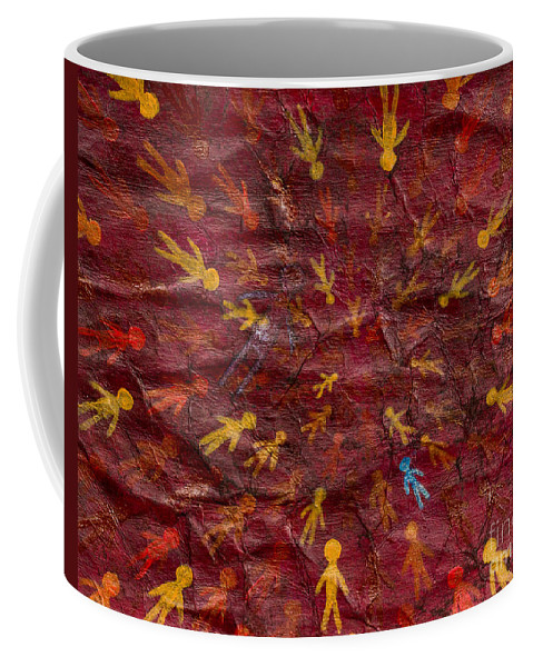Coffee Mug featuring the painting Infinite Possibilities by Stefanie Forck
