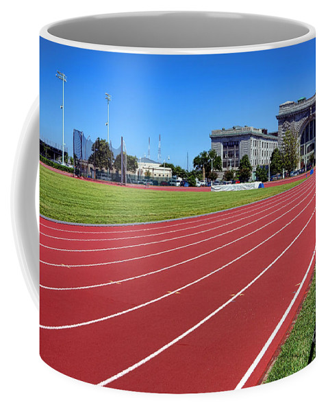 Ingram Coffee Mug featuring the photograph Ingram Field At Usna by Olivier Le Queinec