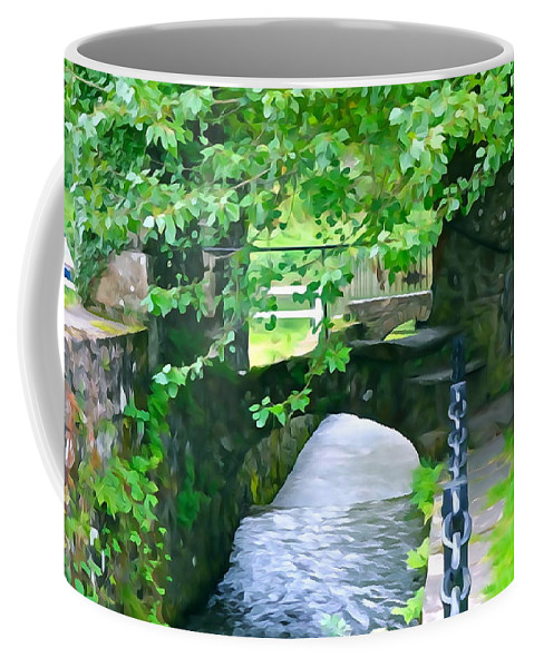 Inistioge Coffee Mug featuring the photograph Inistioge Park by Charlie and Norma Brock