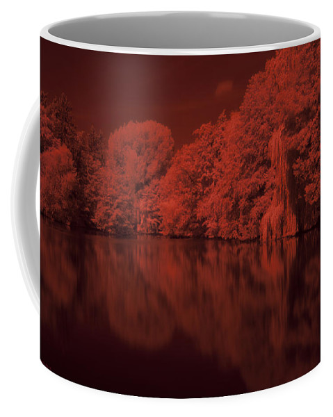 Lake Coffee Mug featuring the photograph Inner City Lake by Miguel Winterpacht