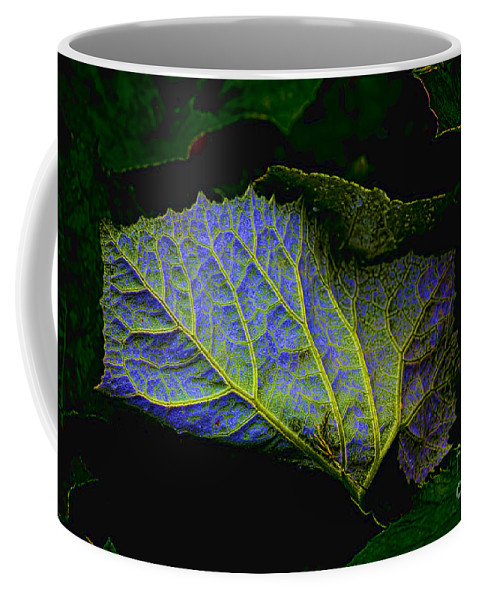 Leaf Coffee Mug featuring the photograph Inner Glow by Casper Cammeraat