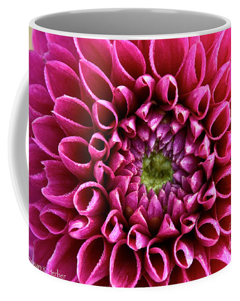 Flower Coffee Mug featuring the photograph Inner Sanctum by Susan Herber