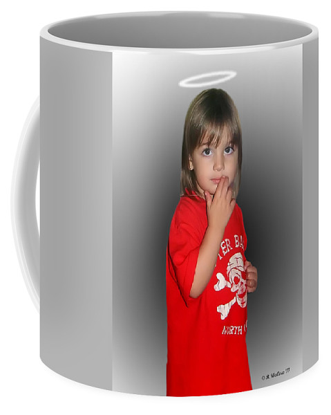 2d Coffee Mug featuring the photograph Innocent Or Guilty? by Brian Wallace