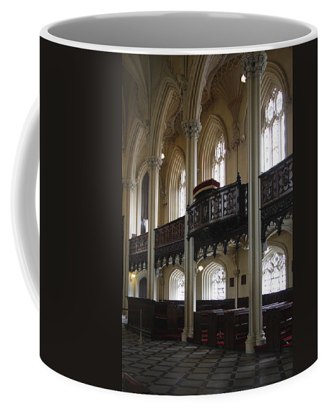 Church Coffee Mug featuring the photograph Interior Of The Chapel Royal - Dublin Castle by Christiane Schulze Art And Photography