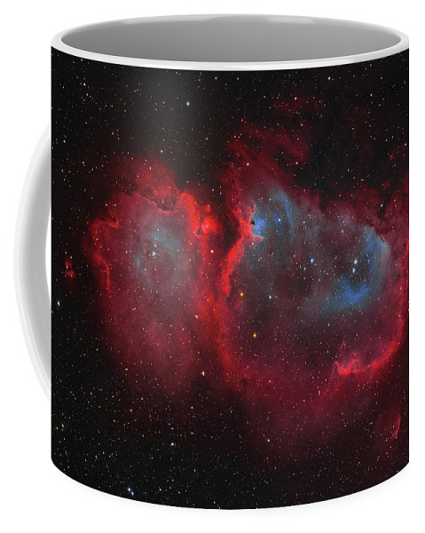 Horizontal Coffee Mug featuring the photograph Interstellar Embryo Ic 1848, The Soul by Lorand Fenyes