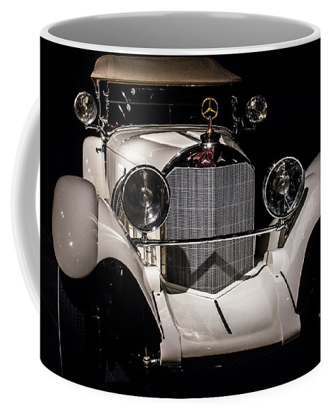 Car Coffee Mug featuring the digital art Into My Light by Georgianne Giese