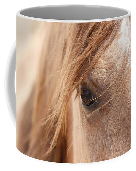 Horses Coffee Mug featuring the photograph Into My Soul by Athena Mckinzie