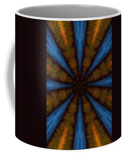 Kaleidoscope Coffee Mug featuring the photograph Into The Blue by Beth Sawickie