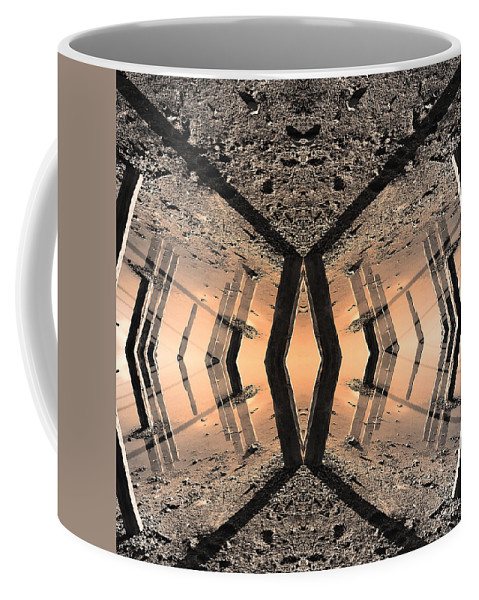 Into The Core Coffee Mug featuring the photograph Into The Core by Dominic Piperata