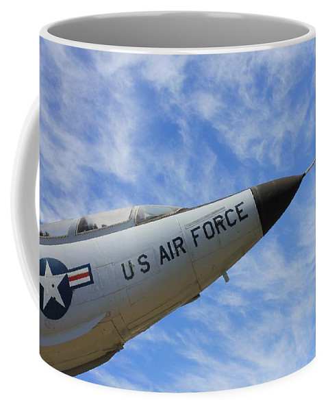 Northcutt Coffee Mug featuring the photograph Into The Wild Blue Yonder by Betty Northcutt