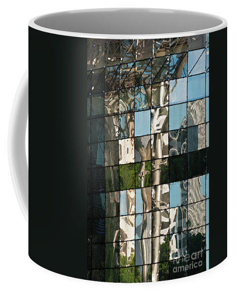 Singapore Coffee Mug featuring the photograph Ion Orchard Reflections by Rick Piper Photography