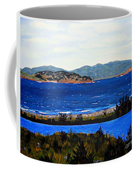 Islands Coffee Mug featuring the painting Iona formerly Rams Islands by Barbara Griffin
