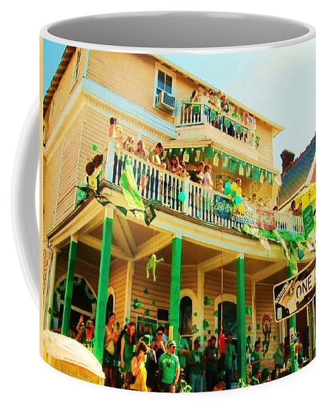 One Day Coffee Mug featuring the photograph One Day In The Irish Channel by Deborah Lacoste