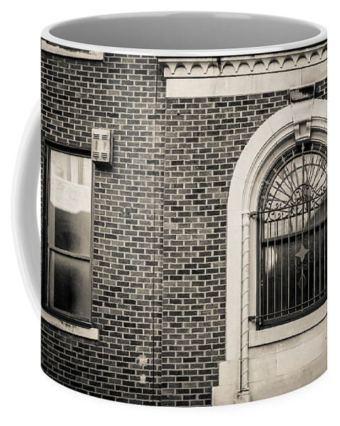 Architecture Coffee Mug featuring the photograph Iron Arches by Melinda Ledsome