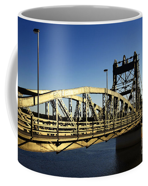 Arches Coffee Mug featuring the photograph Iron Bridge by Carlos Caetano