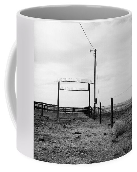 West Coffee Mug featuring the photograph Irony by Carla P White