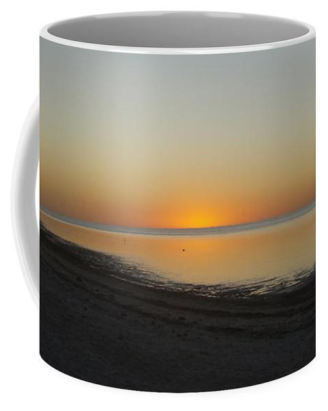Sun Coffee Mug featuring the photograph Island Sunset by Robert Nickologianis