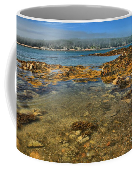Acadia National Park Coffee Mug featuring the photograph Isle Au Haut Beach by Adam Jewell