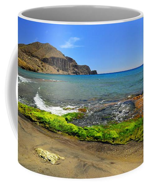 Coffee Mug featuring the photograph Isleta Del Moro Beach by Guido Montanes Castillo
