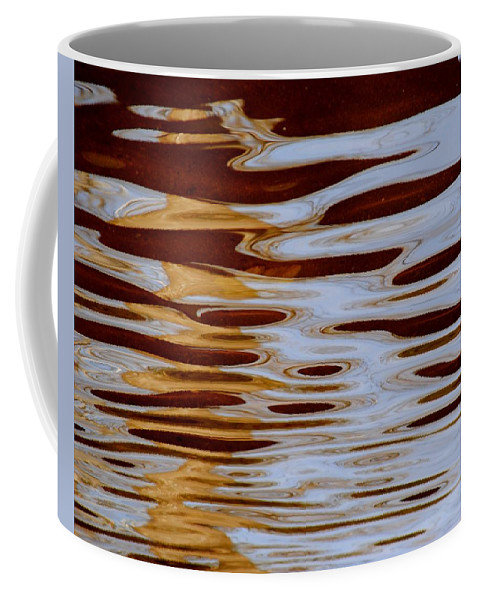 Abstract Coffee Mug featuring the photograph It Is What It Is by Frozen in Time Fine Art Photography
