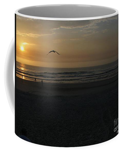 Florida Sunrise Coffee Mug featuring the photograph It Starts by Greg Patzer