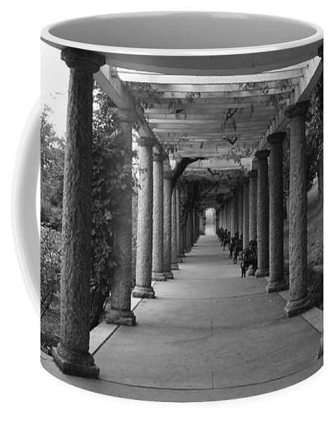 Maymont Coffee Mug featuring the photograph Italian Garden by Tina Meador