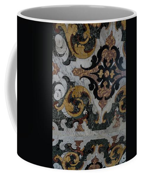 Italian Marble Marvels Coffee Mug featuring the photograph Italian Marble Marvels by Georgia Mizuleva