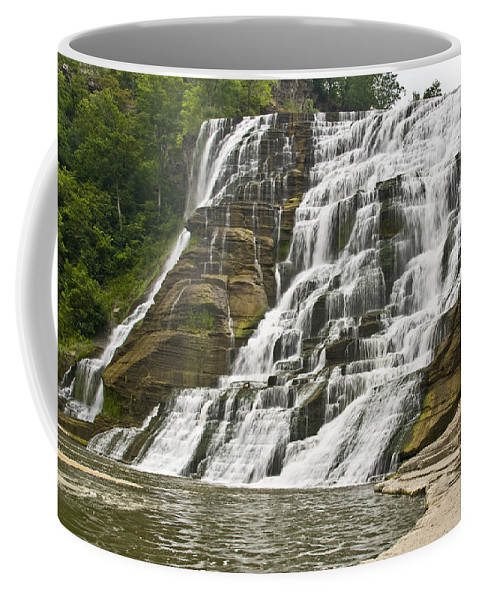 Ithaca Falls Coffee Mug featuring the photograph Ithaca Falls by Anthony Sacco