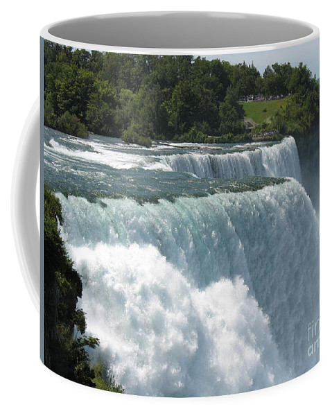 Waterfalls Coffee Mug featuring the photograph It's A Long Way Down by Jeffery L Bowers