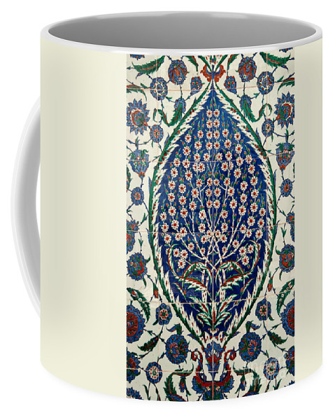 Iznik Coffee Mug featuring the photograph Iznik 07 by Rick Piper Photography
