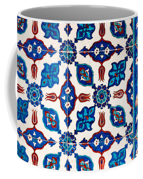 Istanbul Coffee Mug featuring the photograph Iznik 16 by Rick Piper Photography