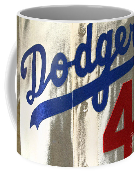 Jackie Robnson Coffee Mug featuring the photograph Jackie by David Rucker