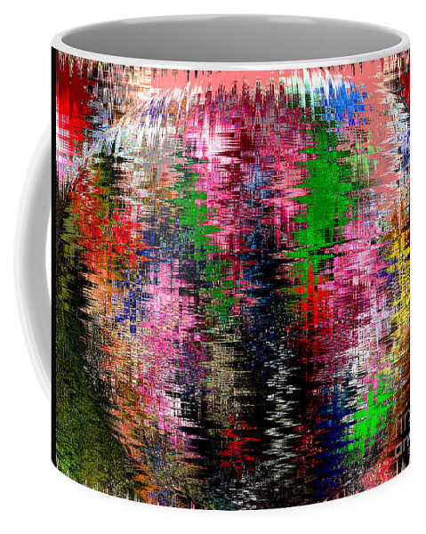 Abstract Coffee Mug featuring the photograph Jacks And Marbles Abstract by Marian Bell