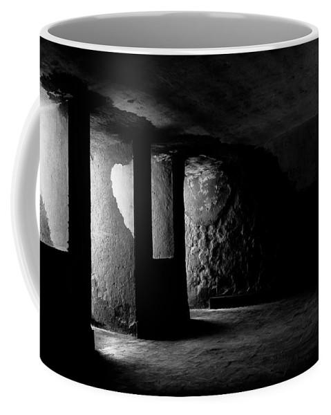 Jail Coffee Mug featuring the photograph Jail by Edgar Laureano