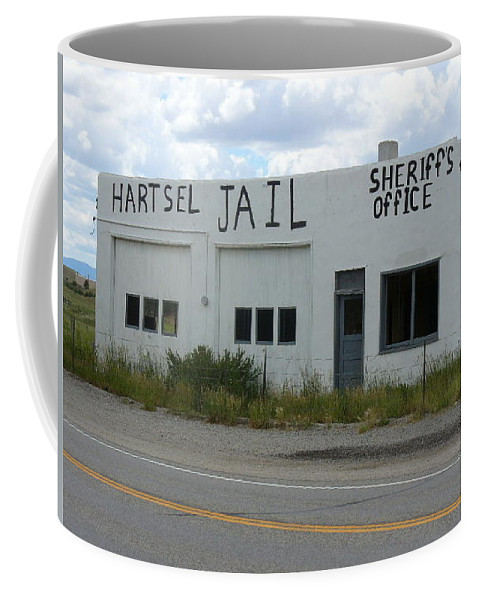 Lyle Coffee Mug featuring the painting Jail by Lord Frederick Lyle Morris
