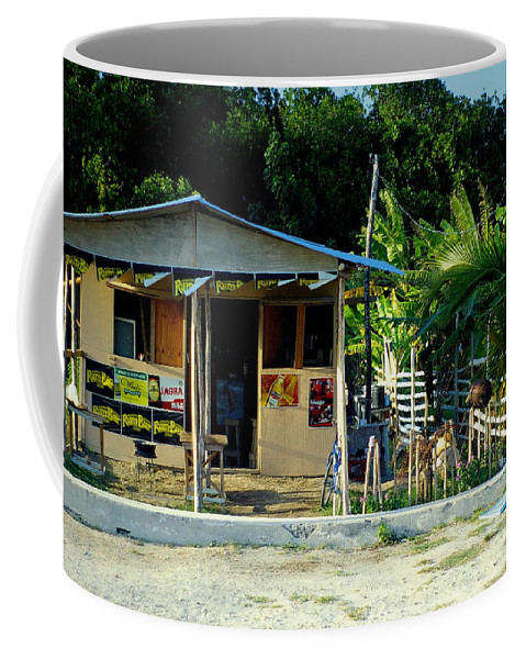 House Coffee Mug featuring the photograph Jamaican's Party Store by Randy Pollard