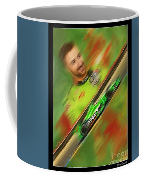 James Hinchcliffe Coffee Mug featuring the photograph James Hinchcliffe by Blake Richards