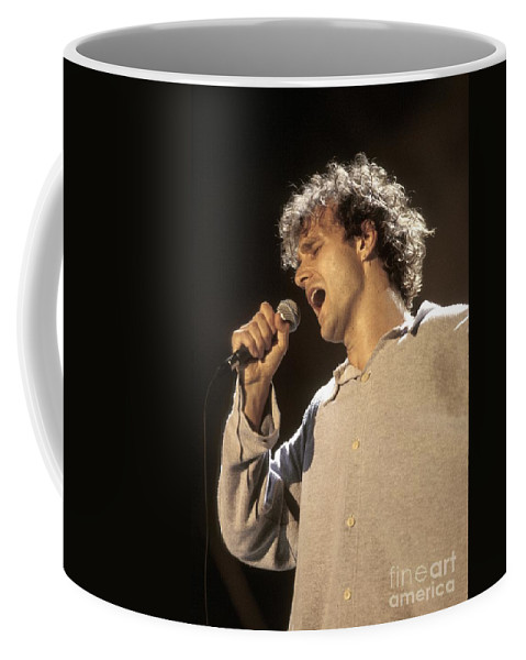 Violin Coffee Mug featuring the photograph James by Concert Photos