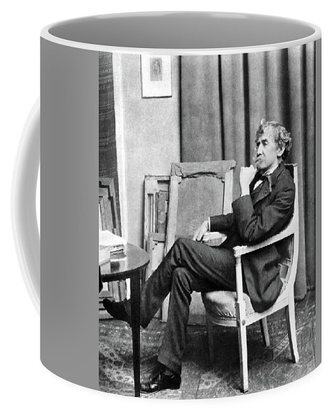 19th Century Coffee Mug featuring the photograph James Whistler (1834-1903) by Granger