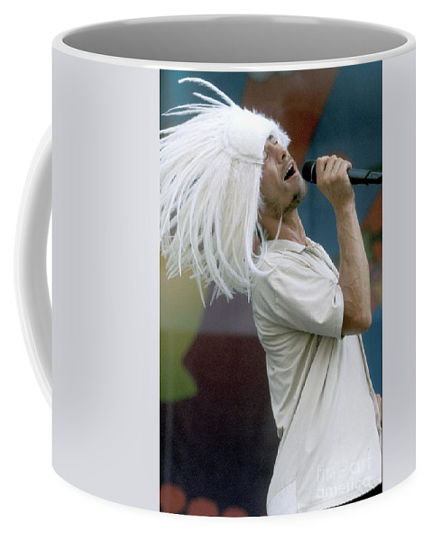 Vocals Coffee Mug featuring the photograph Jamiroquai by Concert Photos